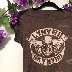 Lynyrd Skynyrd Women's Graphic Band Tee Size M